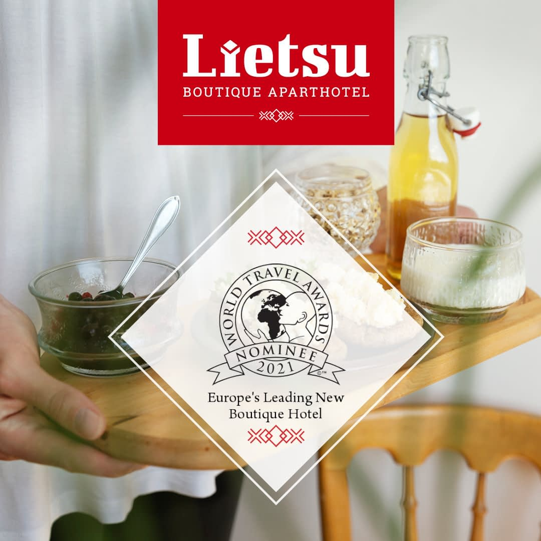 Lietsu Boutique Aparthotel World Travel Awards 2021