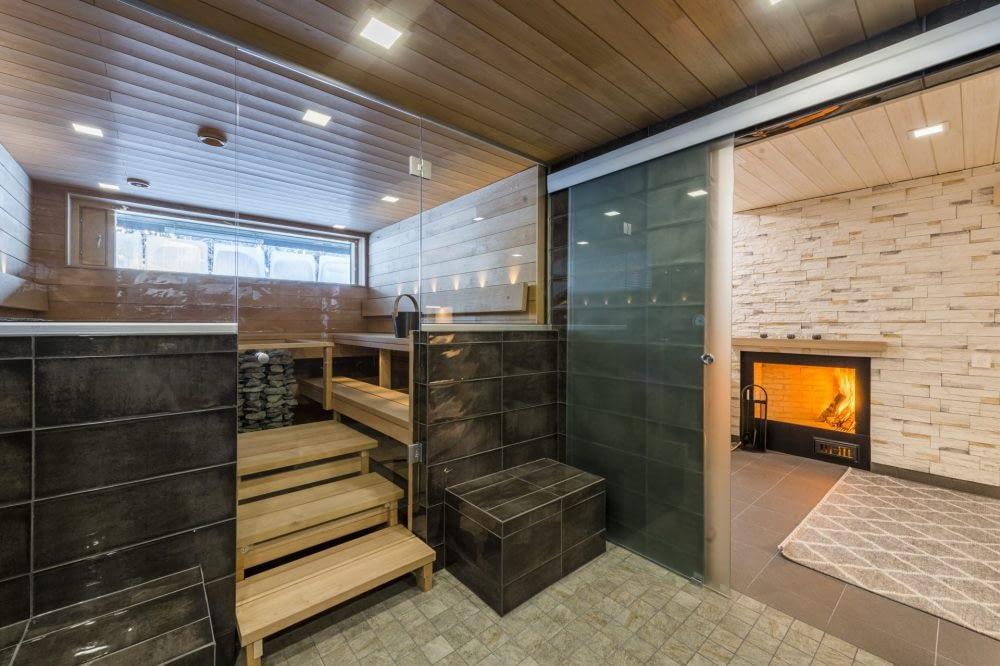 villa rinnekaltio sauna